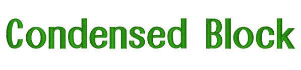 Condensed Block-title